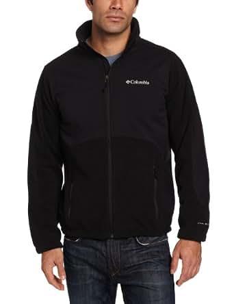 Columbia Men's Big Ballistic Iii Fleece Jacket, Black, 1X