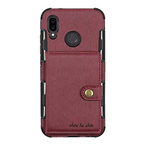 Price comparison product image Huawei P20 Lite Huawei P20 Pro Case Wallet Bag Cover Leather Card Slot Shell Huawei P20 (4,  Huawei P20 Lite)