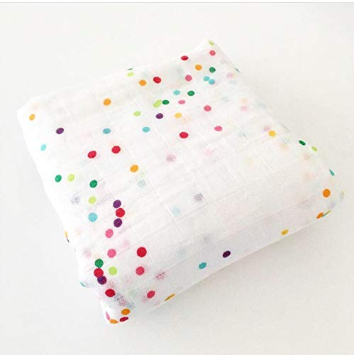 - Ocean & Friends Pty. Ltd. Organic Muslin Baby Blanket/Swaddle - Sea Sparkle Confetti
