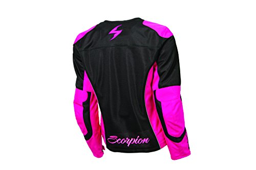 ScorpionExo Verano Women's Textile Sport Motorcycle Jacket (Pink, XX-Large) by Scorpion (Image #1)