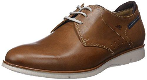 Zapatos Fluchos Hombre Marrón para de Giant Brown Cordones Derby HA75w
