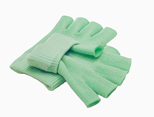 Best Gel Cotton Moisturizing Gloves Touch Screen - Eczema Relief - Heals Dry Skin and Cracked Hands...
