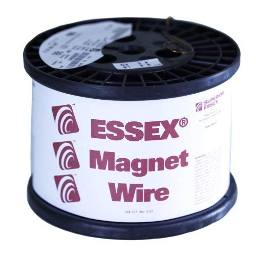 Spool Essex Enameled Magnet Wire - Essex Magnet Wire 18 AWG Gauge Enameled Copper Wire - 10 LBS