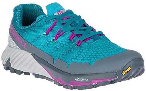 Merrell Women's Agility Peak Flex 3 Trail Running Shoes, 9-B, Capri Breeze