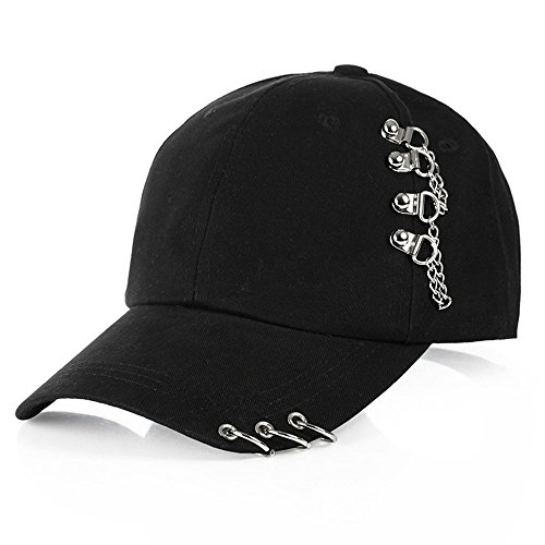 BTS Bangtan Boys Hats V Jimin Fashion K Pop Iron Ring Hats Adjustable Baseball Cap (2)