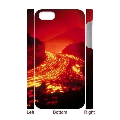 SYYCH Phone case Of Volcanic Eruptions Cover Case For Iphone 4/4s