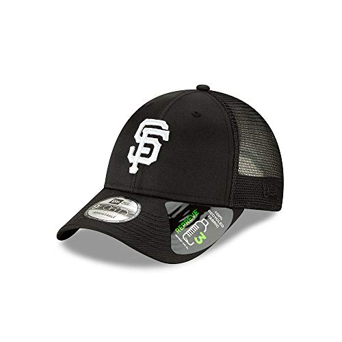 New Era San Francisco Giants Repreve Recycled Fabric 9FORTY Adjustable Trucker Hat/Cap