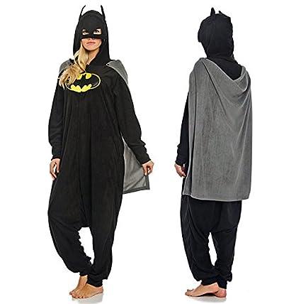 Adulto Unisexo superhéroe Spider Man Batman onesie Fiesta ...