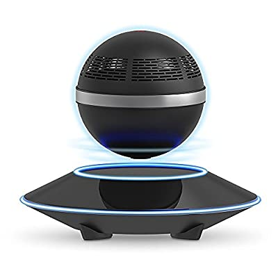 Levitating Bluetooth Speaker, ZVOLTZ Portable Floating Wireless Speaker with Bluetooth 4.0, 360 Degree Rotation, Built-in Microphone, One Touch Control for Bluetooth Connected Devices from ZVOLTZ