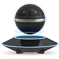 Levitating Bluetooth Speaker, ZVOLTZ Portable Floating Wireless Speaker with Bluetooth 4.0, 360 Degree Rotation, Built-in Microphone, One Touch Control for Bluetooth Connected Devices - Matte Black