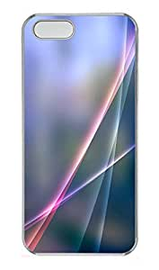 iPhone 5 5S Case The Layers Color Light Background PC Custom iPhone 5 5S Case Cover Transparent