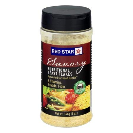 Red Star Yeast Flake Nutritional Shaker Jar, 5 oz (Pack of 5) by Red Star (Image #1)