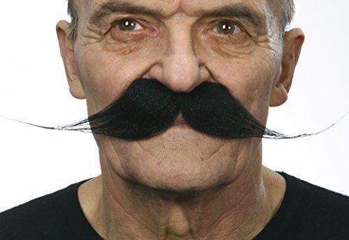 Larger than life moustaches 2pcs. (Quality Fake Moustache)