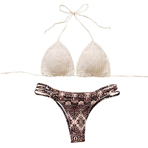 New Gottex Womens Swimsuit (BIEARY Hot New Fashion Women's Bohemian Knitting Swimsuit Set)