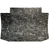 Repops Automotive Reproductions Hood Insulation Pad Flat Fiberglass 1pc 1973-78 Cadillac Eldorado w Clips