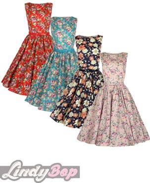 Lindy-Bop-Grace-Vintage-1950s-Floral-Bow-Swing-Party-Dress