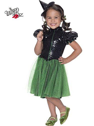 Rubie's Costume Wizard of Oz Wicked Witch Sequin Dress Child Costume, Medium ()