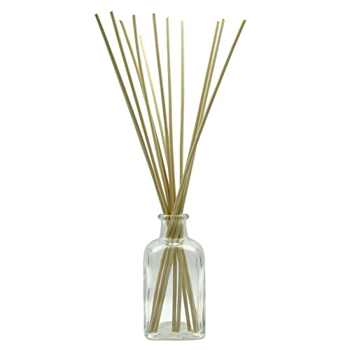1 Pc Wholesale Stylish Refillable Diffuser Bottle Clear Glass Empty Reed Diffuser Bottle With 12 Natural Reed Sticks 100 ml