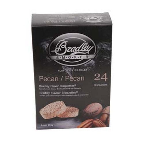 bradley smoker bisquettes pecan - 8
