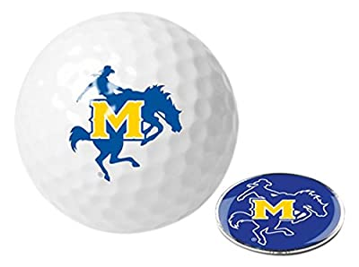 NCAA McNeese State Cowboys - Golf Ball One Pack with Marker