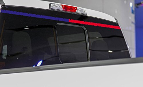 Distressed Thin Blue Red Yellow Gray Green Pink Line Decal Windshield Read Window 60