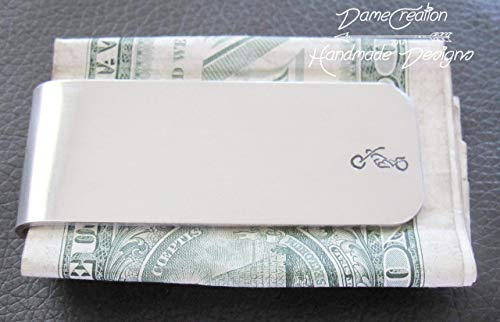 - Harley Money Clip, Silver Money Clip, Motorcycle Money Clip, Biker Gifts, Christmas GIfts for Boyfriend