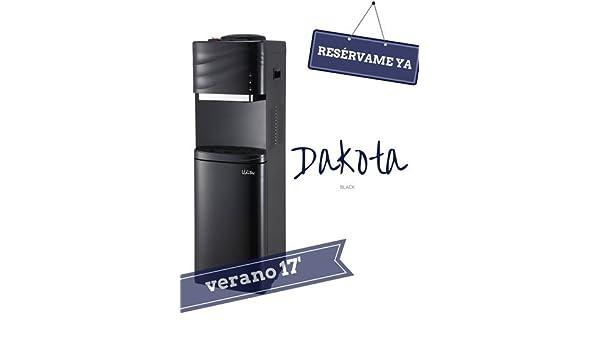 DAKOTA BLACK. Fuente de Botellón con nevera.: Amazon.es: Hogar