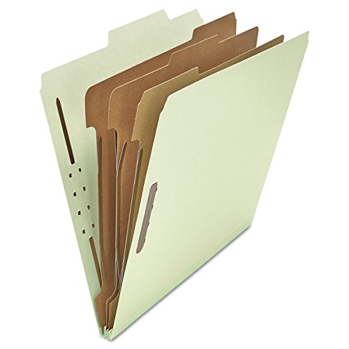 [Universal 10293 - Pressboard Classification Folder, Letter, Eight-Section, Gray-Green, 10/Box-UNV10293 by Universal®] (Eight Section Pressboard Classification Folders)