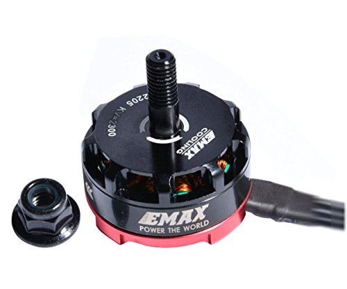 (Crazepony EMAX RS2205 2300KV Brushless Motor CW for QAV250 QAV300 FPV Racing Quadcopter)