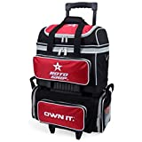 Roto Grip 4 Ball Roller Bowling Bag, Black/Red