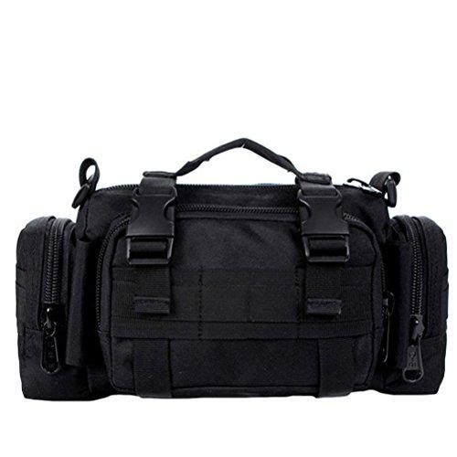 MatchLife - Bolso mochila  para mujer Camouflage6 negro