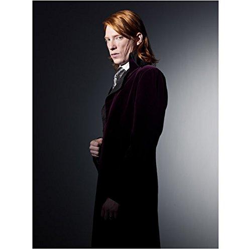 Harry Potter Domhnall Gleeson As Bill Weasley In Purple Dress Coat 8 x 10 Inch Photo