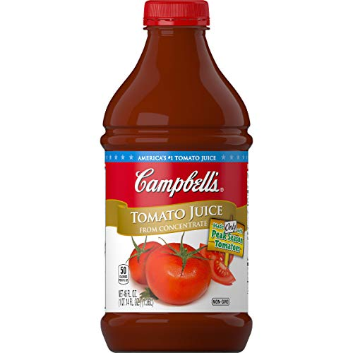 Lime Tomatoes - Campbell's Tomato Juice, 46 Ounce