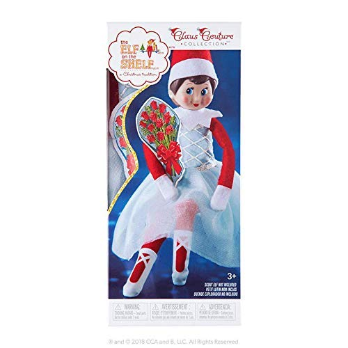 The Elf on the Shelf Claus Couture Collection 2018 Exclusive Belle of The Night SG/_B07K6PGHZ9/_US