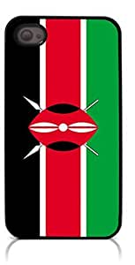 HeartCase Hard Case for Iphone 4 4G 4S (The national flag of Kenya ) wangjiang maoyi