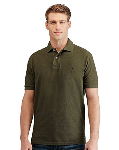 Polo+Ralph+Lauren+Mens+Classic+Fit+Mesh+Pony+Shirt-Alpine+Heather-Large