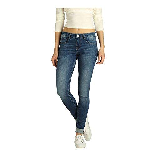 Aus Fritzi Basic middle Donna 064 Blu Skinny Jeans Downey Preussen Blue 4ZpwdRqwTP