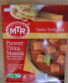 MTR Paneer Tikka Masala, Ready-To-Eat, 1 - Paneer Tikka Masala Shopping Results