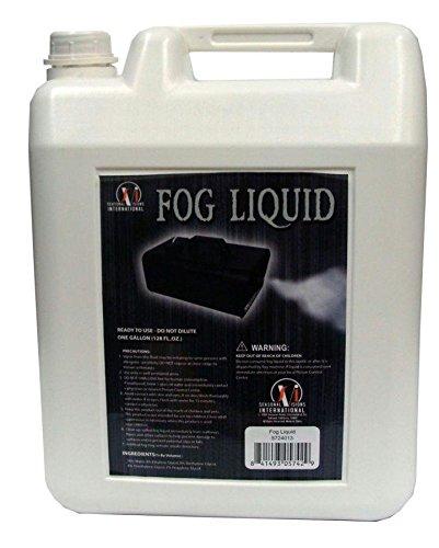 FOG FLUID JUICE GALLON HAUNTED HOUSE Fog Machine Prop Scary Realistic Halloween - IA234 ()