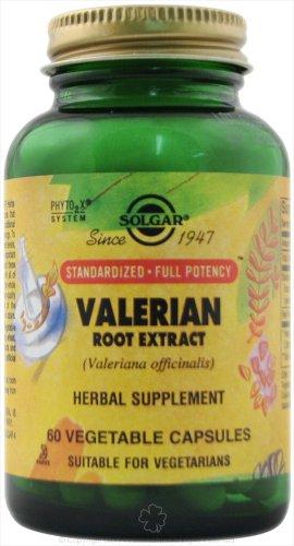 Solgar normalisé racine de valériane Capsules Extrait de légumes 60