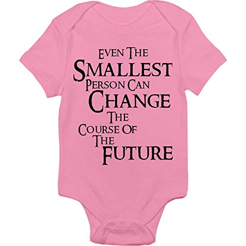 Lord Of The Rings Bodysuit - Even The Smallest Person Can Change The Course Of The Future - Handmade Baby Cloths For Boys And Girls - Baby Shower Gift Idea]()