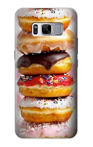 Sweet Fancy (R2431 Fancy Sweet Donuts Case Cover For Samsung Galaxy S8)