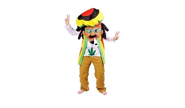 Disfraz Bob Marley Rastafari para adulto: Amazon.es: Juguetes y juegos