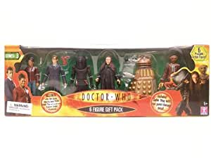 """Doctor Who - 5"""" Action Figure Six Figure Gift Pack (series3)"""