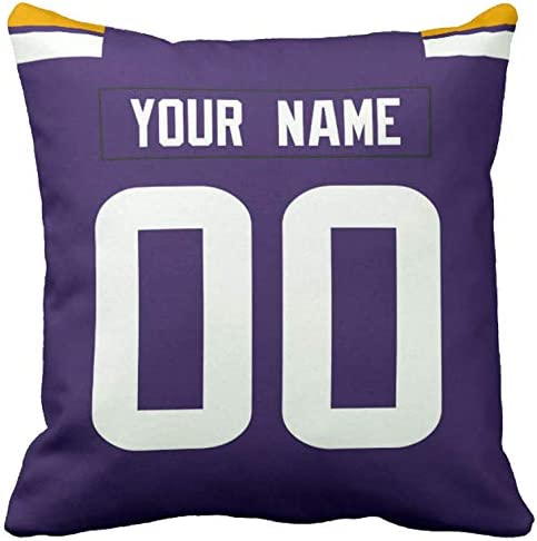 Tennis Pillow Cover FREE SHIPPING Personalized Sports Pillowcover Custom Name Soccer Football Softball Family Pillow Baseball