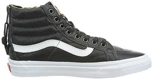 hi Sk8 Noir Vans Noir Fashion Slim Mode ETwqRtWq1
