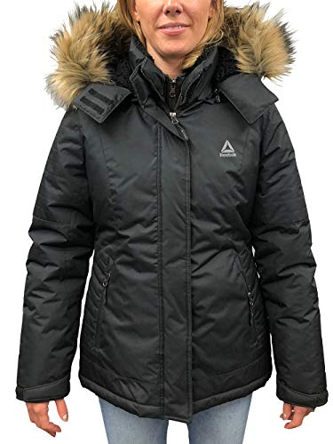 (Reebok Women's Insulated Jacket - Black, s)