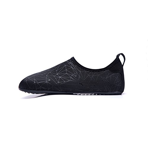 de Agua de Color Natación Calzado black Zapatos Playa Secado LEKUNI Soles Respirable Zapatos Piscina de de de LK Zx Rápido Agua Unisex Oqxntw6BnI