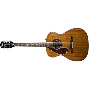 fender tim armstrong hellcat acoustic electric guitar left handed natural. Black Bedroom Furniture Sets. Home Design Ideas