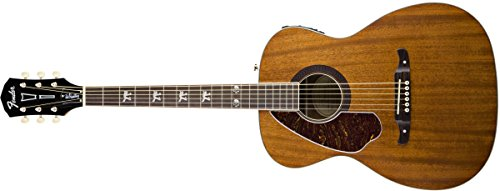 [Fender Tim Armstrong Hellcat Acoustic-Electric Guitar, Left Handed - Natural] (Armstrong Guitar)